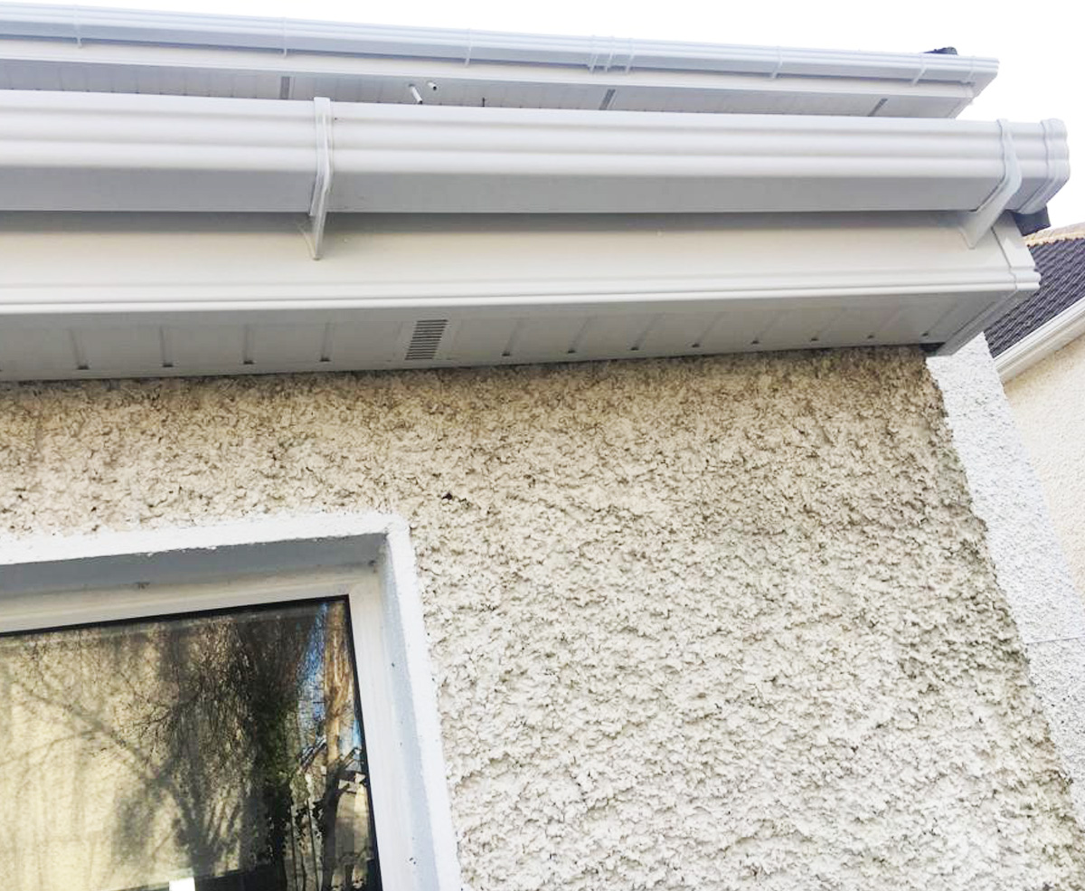 Maintenance Free Roofline Homefront Guttering