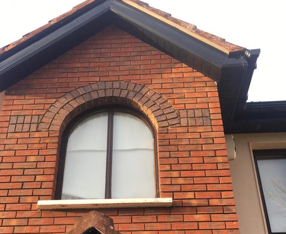 New Maintenance Free Black Pvcu Roofline Homefront Guttering